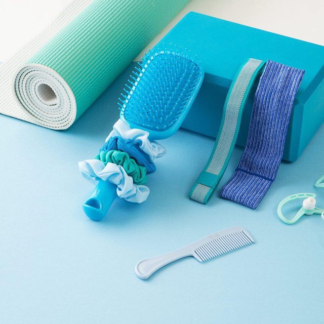 The best kind of Monday blues 💙💙 #goodyhair #feelgoody #yogaessentials #mondayblues