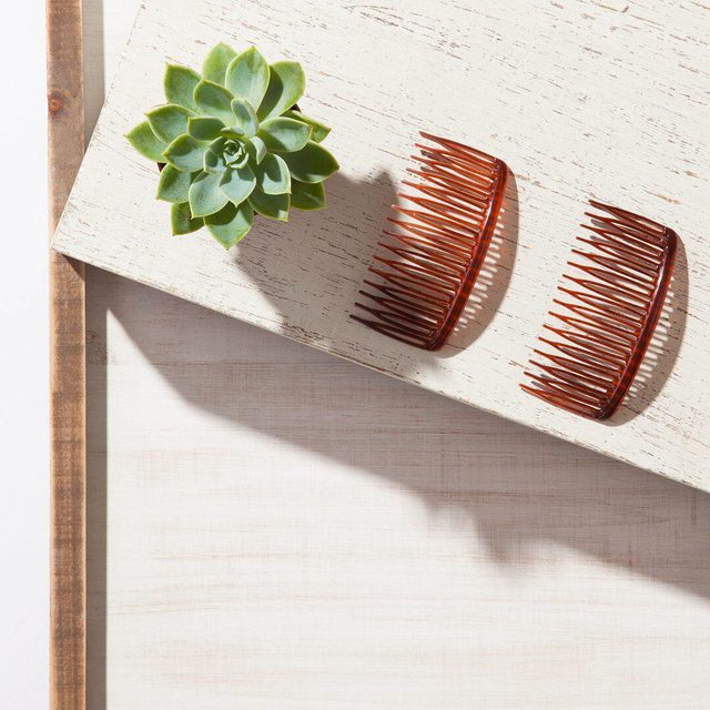Mood: side combs and succulents 🌵☀️😍 #goodyhair #feelgoody