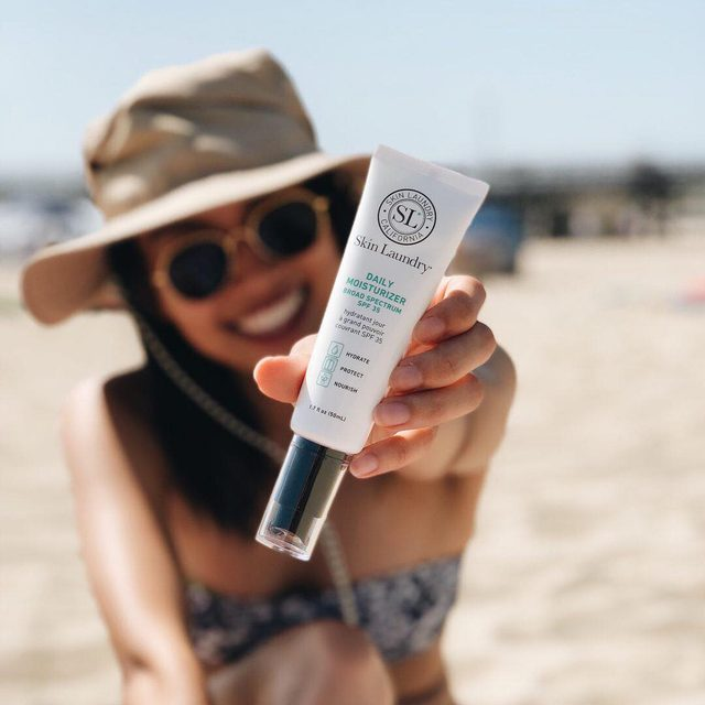 Summer may be winding down, but SPF is always necessary. Did you know that though you can't get as badly burnt as you would in the direct sunlight, you can still get some level of UVA rays and should still wear sunscreen if you'll be in the car on a sunny day. #spf #skincare #sundamage #skinlaundry